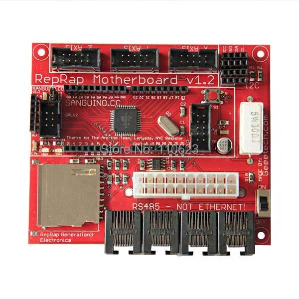 Hot Selling Geeetech 3D printer reprap Motherboard V1.2 development board hot selling 100