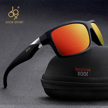 2019 New Men Polarized Sunglasses 1.1mm Thicken Lens Fashion Brand Outdoor Sunglasses for Men Elastic Rubber Paint Smooth Frame(China)