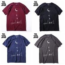 cotton casual short sleeve space print men T shirt SF