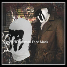 Hot Sale Top Quality Rorschach Mask Watchman Masks Balaclava Hats Halloween Cosplay Costume Headgear Comic Full Face Mask