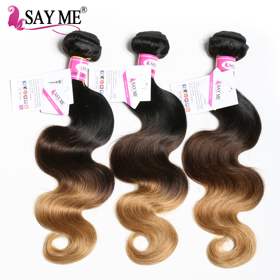 Human Hair Weaves Hair Extensions & Wigs Body Wave Hair Bundles Brazilian Hair Weave Bundles 100% Human Hair Extensions Non Remy 4 Bundle Deals Natural Color Ruiyu Hair And Digestion Helping