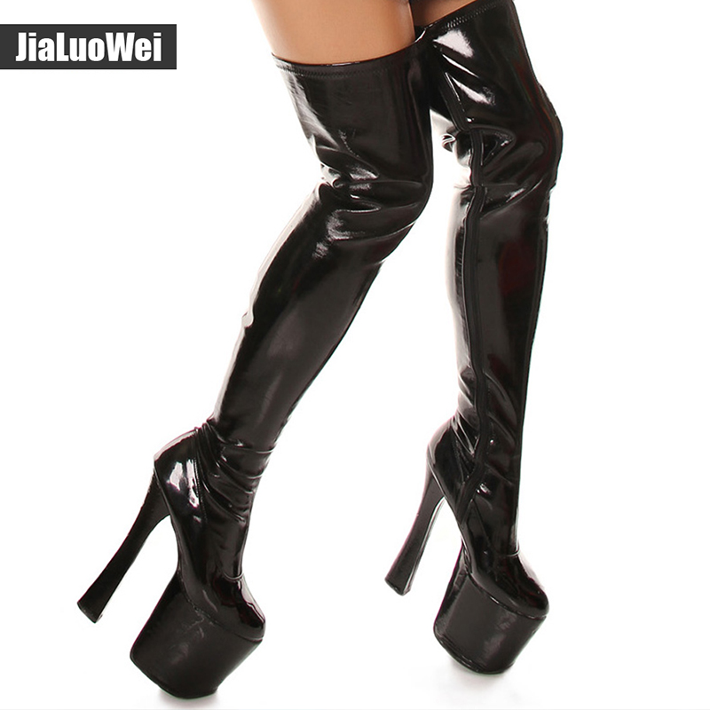 ... thigh high boots plus size. sku: 32797251610
