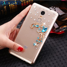 Bling Diamond Case for Xiaomi Redmi S2 6A NOTE 7 6 PRO 4A 4X 5 5S plus 5A 4 Pro MI 5X 6X 8 SE pocophone f1 Clear Crystal Cover(China)