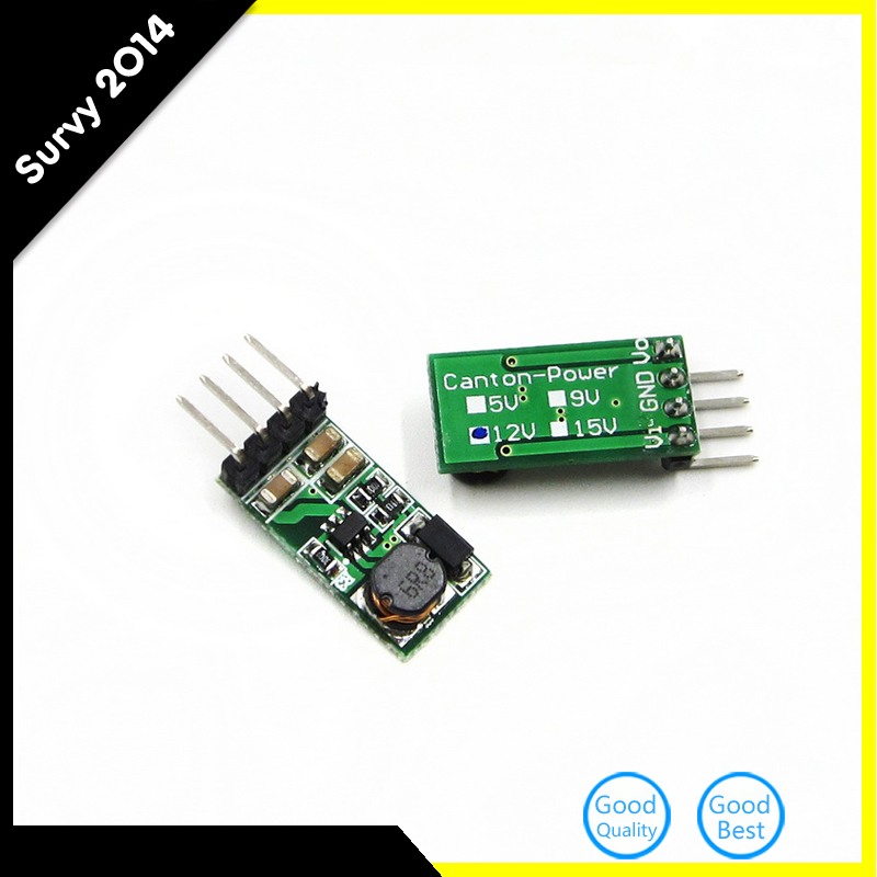 1pcs DC 3.3V 3.7V 5V 6V to 12V Step up Boost Power Supply Module Breadboard Development Voltage Regulator Converter For Arduino image
