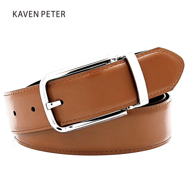 Famosas marcas para hombre cinturones de lujo Pin hebilla de cuero - Accesorios para la ropa - foto 4