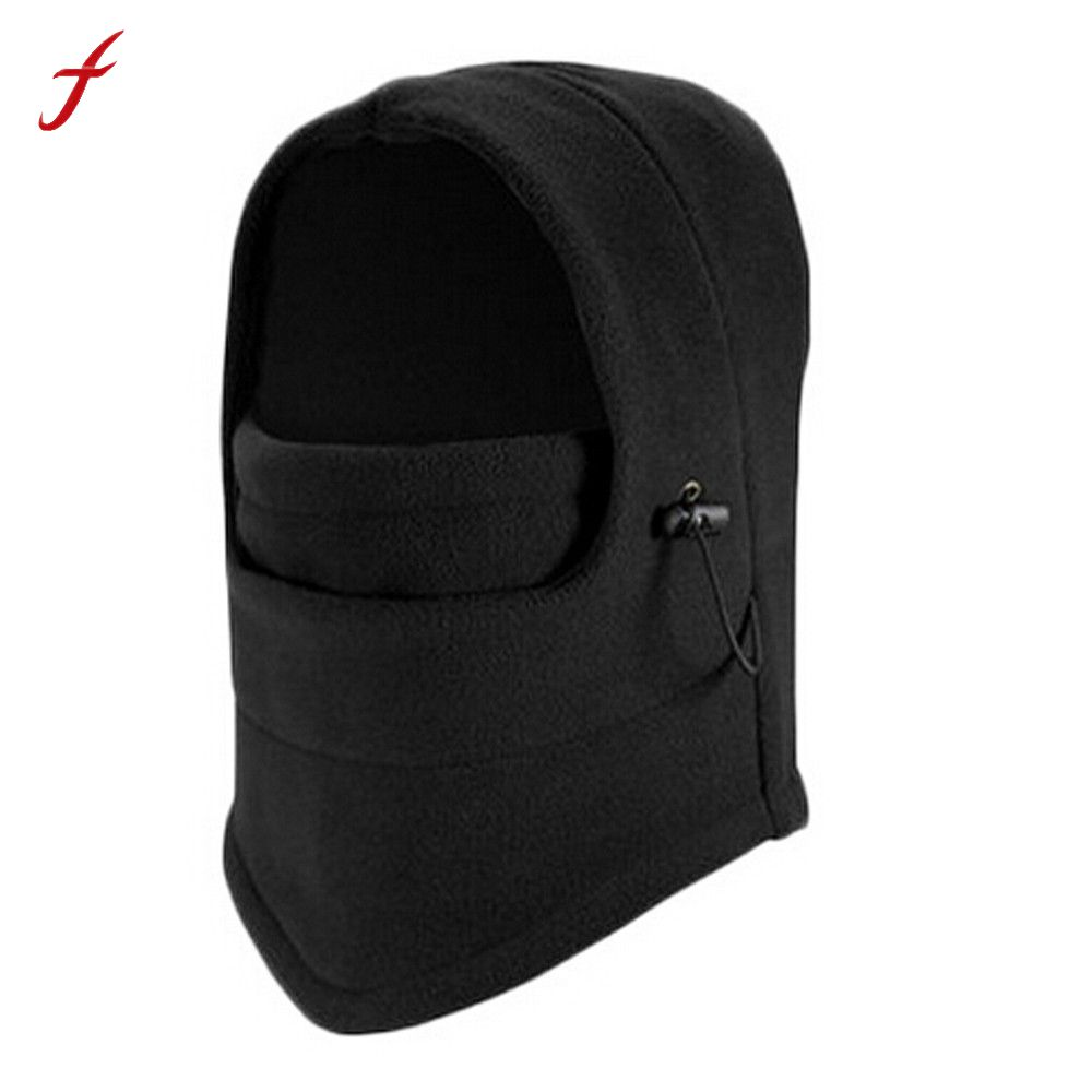 Winter Hats For Men Face Mask Skullies Beanies Hat Women Fleece Scarf Neck Caps Balaclava Mask Gorras Bonnet Knitted Hat winter outdoor warm motorcycle wind proof face mask neck helmet beanies cap bicycle thermal flannel balaclava hat for men women
