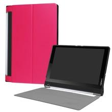 ocube Ultra Slim Folio Stand PU Flip Leather Case Cover For Lenovo Yoga Tab 3 Plus Pro 10.1 inch Funda Tablet