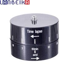 LANBEIKA для мобильного телефона Покадровый 360 градусов Авто поворот камеры основание головки штатива 360 TL Timelapse для камеры Gopro SLR