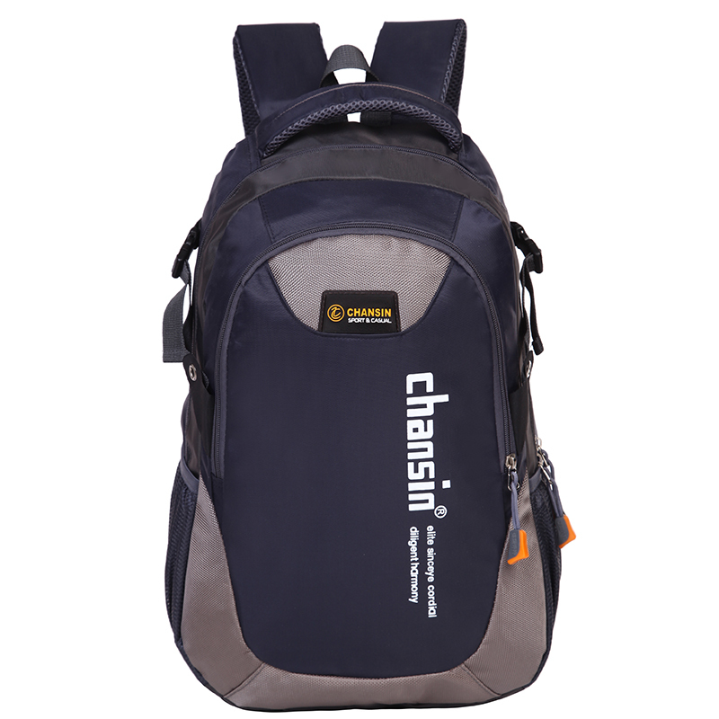 X-Online new hot good quality unisex teenager travel backpack student school bag lady man leisure bag