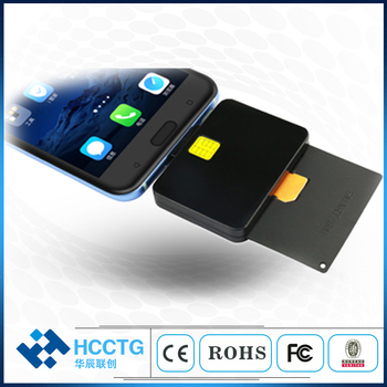 Micro USB Mobile phone ISO 7816 Contact Android Tablet Smart Card Reader Hot PC SC Compliant ISO 7816 Portable Reader  DCR32