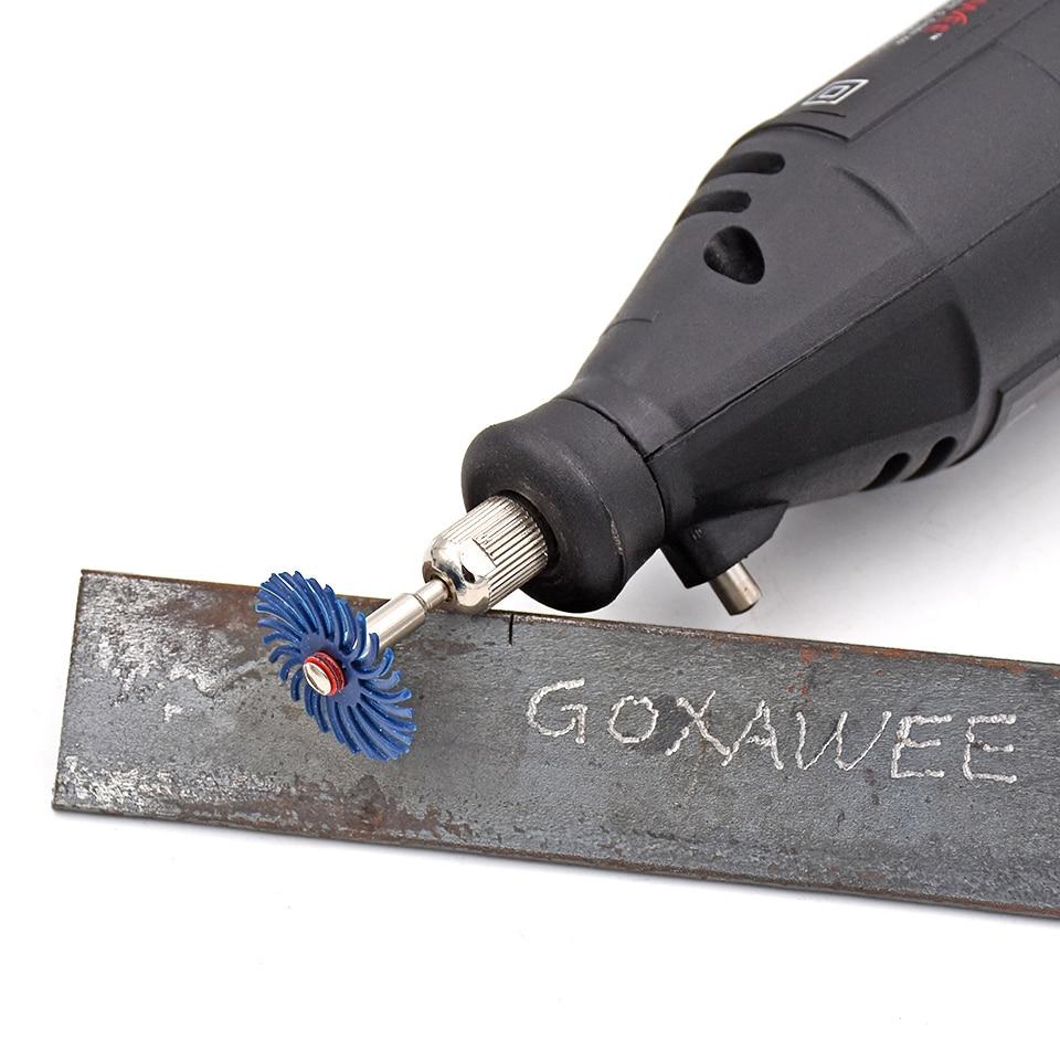 20 pz accessori per utensili rotanti per spazzole radiali Dremel - Utensili abrasivi - Fotografia 5