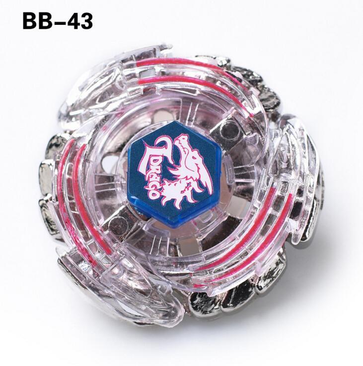 Nov prihod !! Lightning L-Drago Metal Fusion 4D Beyblade BB43 No Have Launcher Otroške igrače brez zaganjalnika