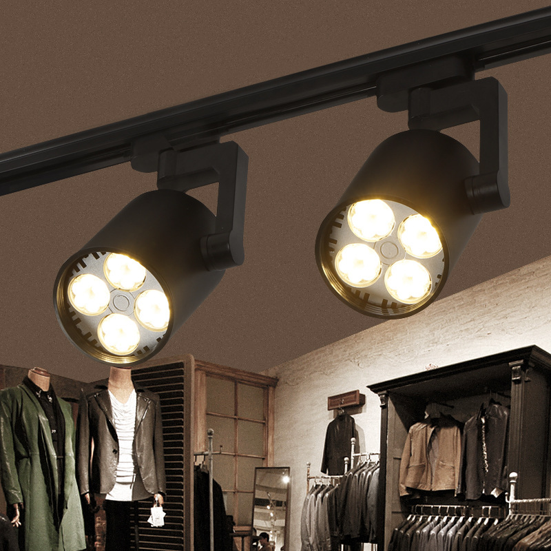 Track Light Cob 35w Ceiling Rail Lights