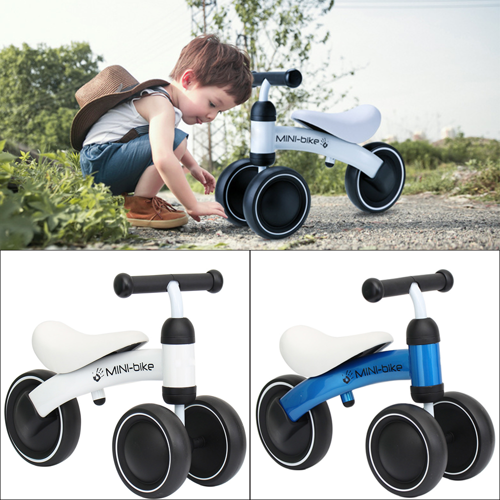 Children Three Wheel Balance Bike Kids Scooter Baby Walker 1-3 Years Tricycle Bike Ride On Toys Gift For Baby Toys Best Gift