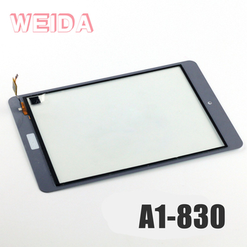 WEIDA 7 Screen Replacemnt For Acer Iconia A1-830 A1 830 Touch Digitizer Screen Panel Glass westrock battery 30107108 4600mah for acer acer a1 840 131u a1 840fhd 10g2 iconia a1 840fhd 197c iconia a1 840