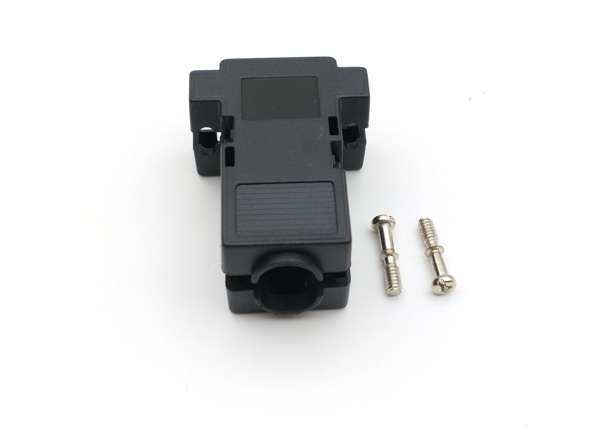 100 piezas DB9 D Sub cubierta hood de 9 pin 15 pin-in Conectores from Luces e iluminación on AliExpress