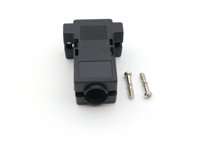 100pcs DB9 D Sub Dsub cover hood shell 9 pin 15 pin