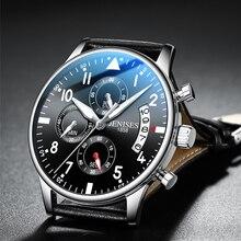 Mens Watch Top Brand Luxury Men Wristwatch Clock Fashion Sport Quartz Watches Male Military Waterproof Chronograph Clock relojes
