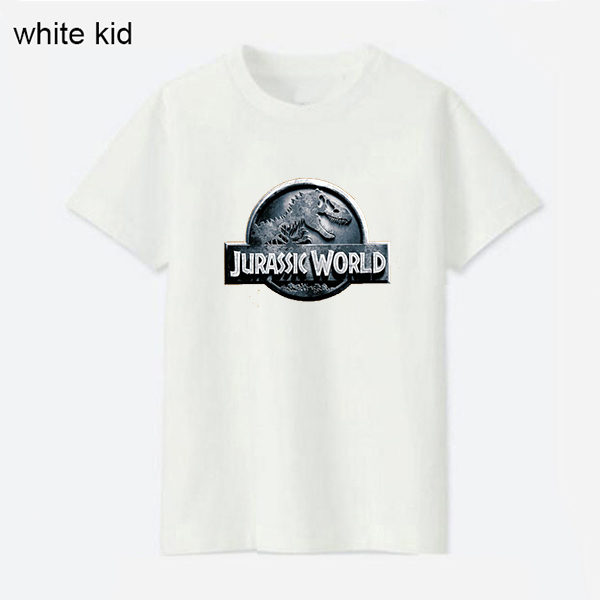 100 Cotton Kid Jurassic World T Shirt Kids Clothes Boy Tshirt