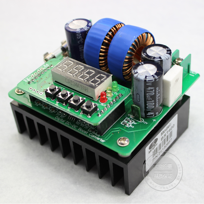 Numerical control digital display DC-DC DC boost 420 w constant current numerical methods for linear control systems