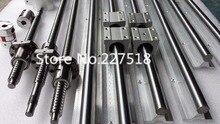 6 компл. линейный рельс SBR16 L1550/1050/350 мм + SFU1605-1500mm ШВП