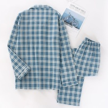 Men's Cotton Casual Long Sleeves Pajamas