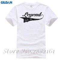 Legend T SHIRT Black Distressed Logo Funny Fashion Retro Cool Awesome Gift Shirt Mens T Shirts