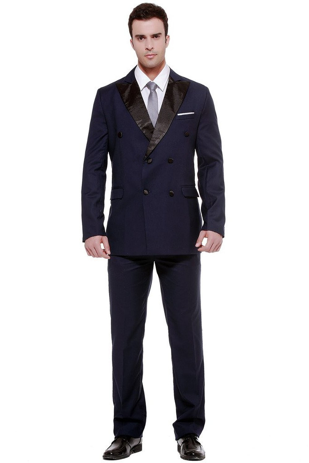 Compare Prices on Mens Slim Fit Double Breasted Suit- Online ...