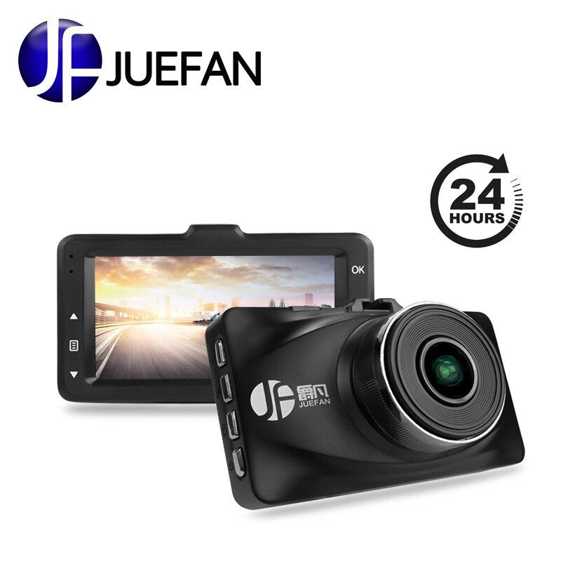 JUEFAN A119 DVR Full HD 1080P Novatek 96655 Car Camera Recorder Black Box 3.0 Screen 170 Degree 6g Lens WDR Dinner Night Vision