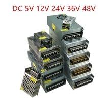 AC DC 5V 12V 24 V 36V 48V Alimentazione Elettrica di Commutazione 5 12 24 V 3A 5A 10A SMPS 220V A 12V 5V Fonte di Alimentazione 24 V 36V 48V 360W