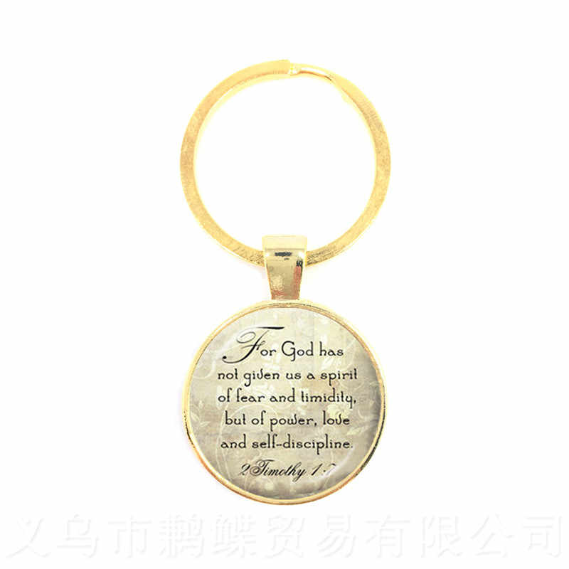 """""""Animals Are My Friends, And I Don't Eat My Friends""""Round Glass Cabochon Proverbs Keychains Gift For Vegan Friends Keyring"""