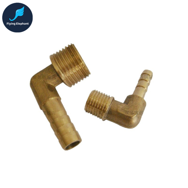 Flying-Elephant 1 Piece G1/4 90 degree Copper Pagoda OD 6mm 8mm 10mm nipple connect 6-10mm Tubing connector футболка детская dumbo the flying elephant 3699 jangpierre 2015