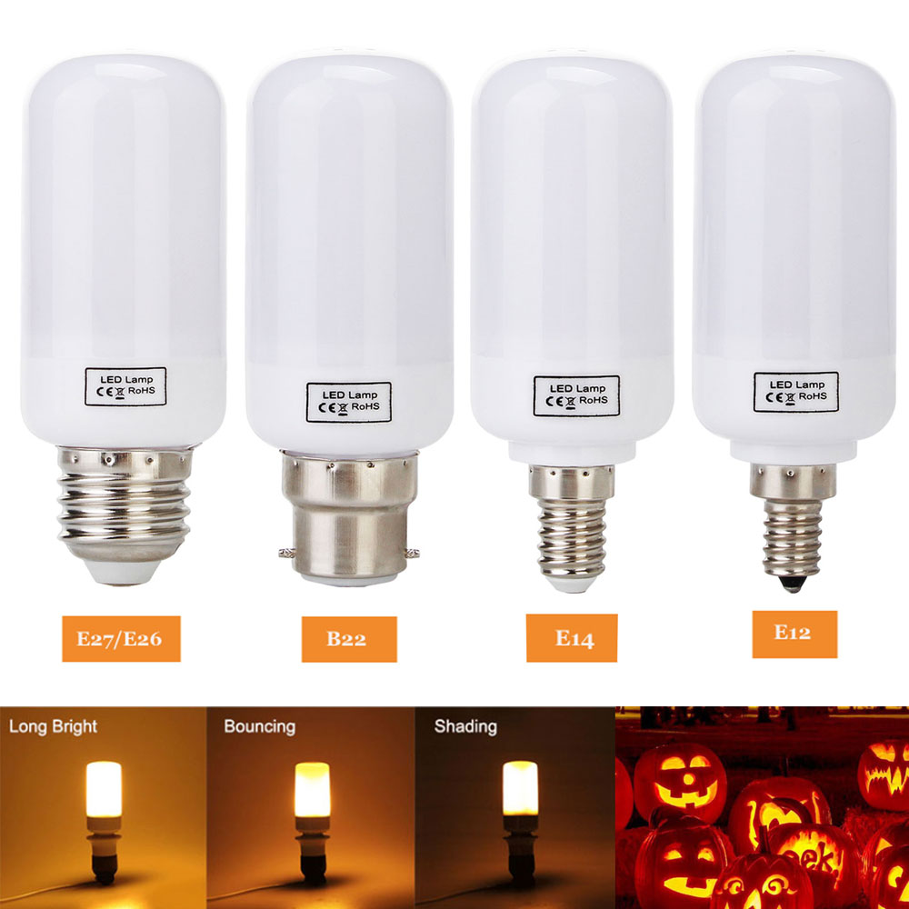 Lâmpadas Led e Tubos decorativa do feriado luzes de Base : E27/e14/b22/e26