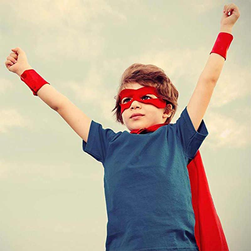 Crianças bebê crianças meia face masquerade traje máscara de olho máscaras de super-heróis do partido presentes de aniversário decoração fontes do partido do traje