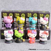 Hello Kitty Mystery Minis Limited Edition PVC Figures Toys Dolls 7cm 8pcs Set