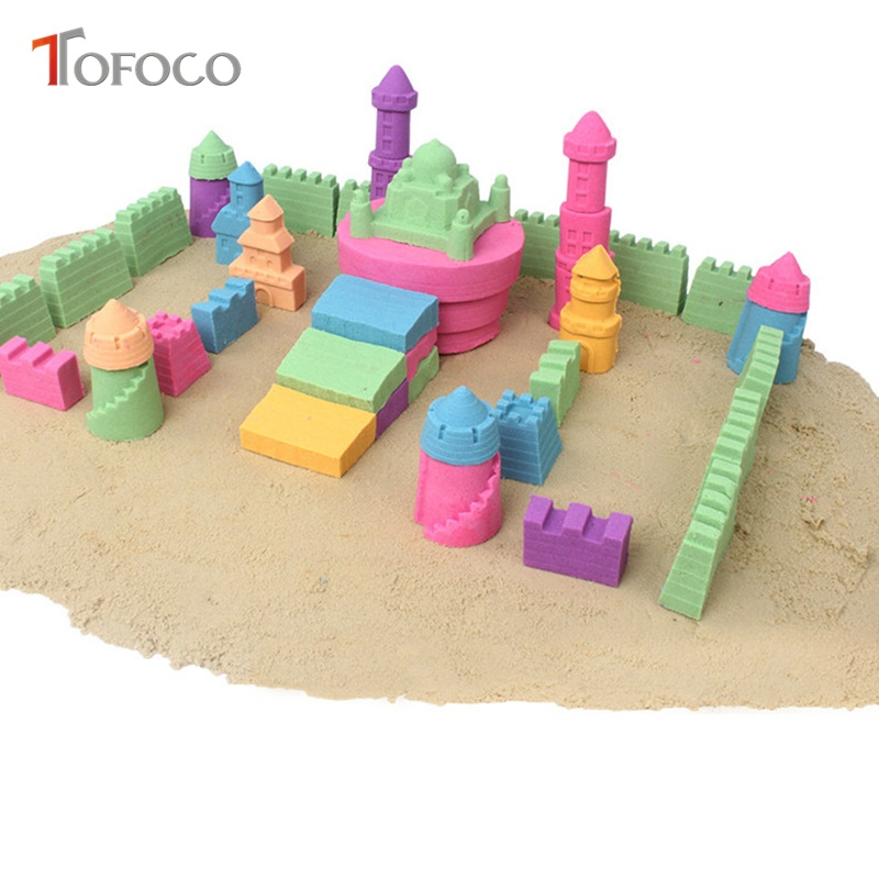 Glorious Tofoco 510g Diy Indoor Magic Sand Intelligent Light Plasticine Polymer Clay Magnetic Slime Toys Gum For Hands Modeling Clay