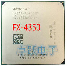 AMD FX 4350 4.2 GHz Quad Core CPU Processor Socket AM3+ FX 4350 free shipping