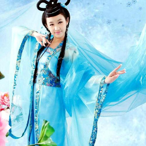 Chinese hanfu dress colors