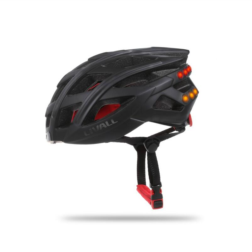 SOS funkce Multifunkční cyklistická helma Horská cyklistická přilba Inteligentně tvarovaná bílá přilba pro Bluetooth Inteligentní cyklistická přilba