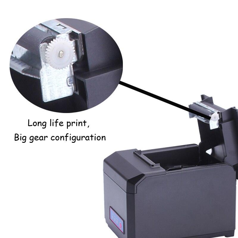 Sürətli 300mm / s sürətdə Wifi LAN USB Bluetooth POS 80mm Termal - Ofis elektronikası - Fotoqrafiya 3