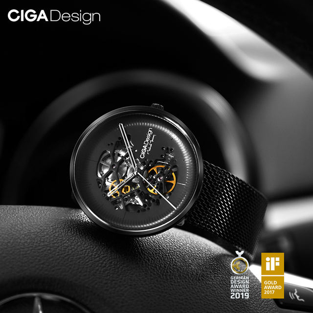 CIGA Design MY Series smart watch for men, automatic mechanical watch
