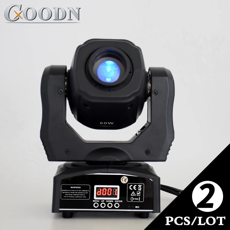 60W LED Moving Head Light DJ Light with gobo color wheel 2pieces/lot60W LED Moving Head Light DJ Light with gobo color wheel 2pieces/lot