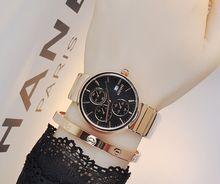 Relojes de pulsera A Prueba de agua de Las Mujeres Relojes de Cuarzo Relojes de Oro Tyrant Personalizada Con Calendario Factory Outlet