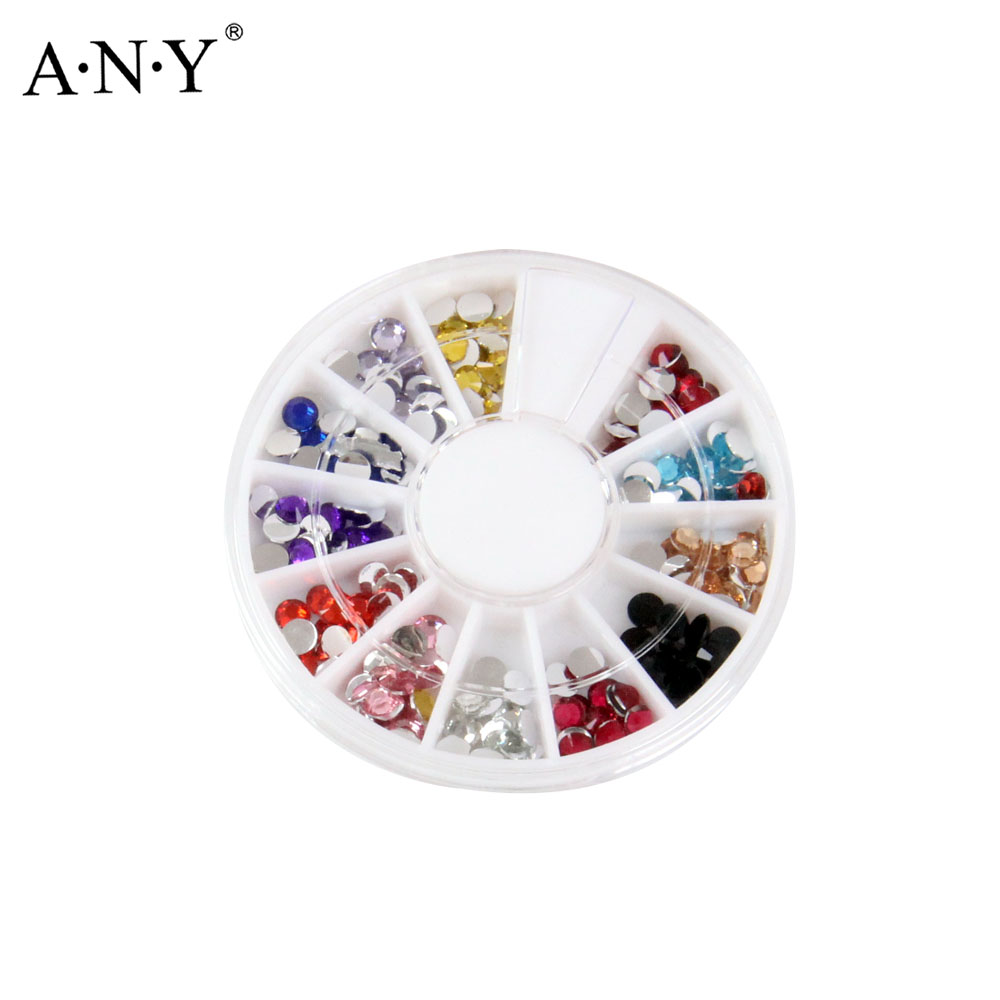 JEDE Acryl Diamant/Dot/Obst/Multilaterale diamant Formen Strass ...