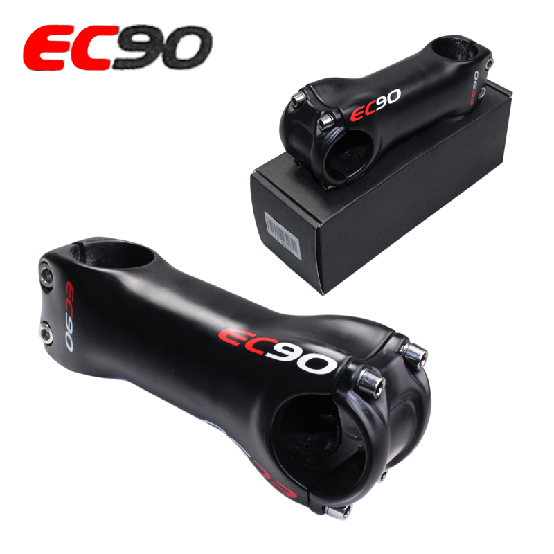 2017 EC90 full carbon fiber riser mountain bike road bike bicycle stem carbon fiber new arrival ultra-light MTB bicke Stem ultra light carbon fiber road bike mountain bike bicycle stem riser goose carbon stem 10 degree gloss matte 31 8 80 90 100 110mm