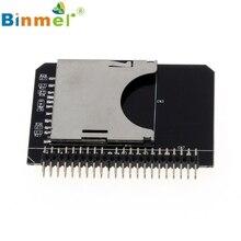 SD SDHC SDXC MMC карты памяти для IDE 2.5 дюймов 44Pin Мужской конвертер адаптер U0306 20