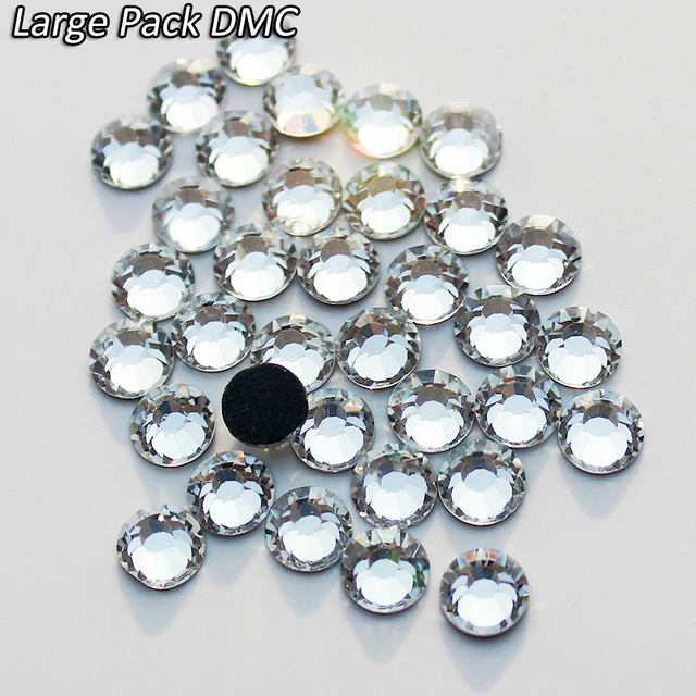 Wholesale Large Packing 500 Gross 3mm SS10 Clear Crystal Flatback XBLJ Glue  Adhesive Stones DMC Hotfix Rhinestones For Crafts 34a2b69101f8