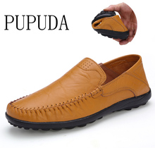 Formal Leather Shoes Men Classic slip-on Loafers Lightweight
