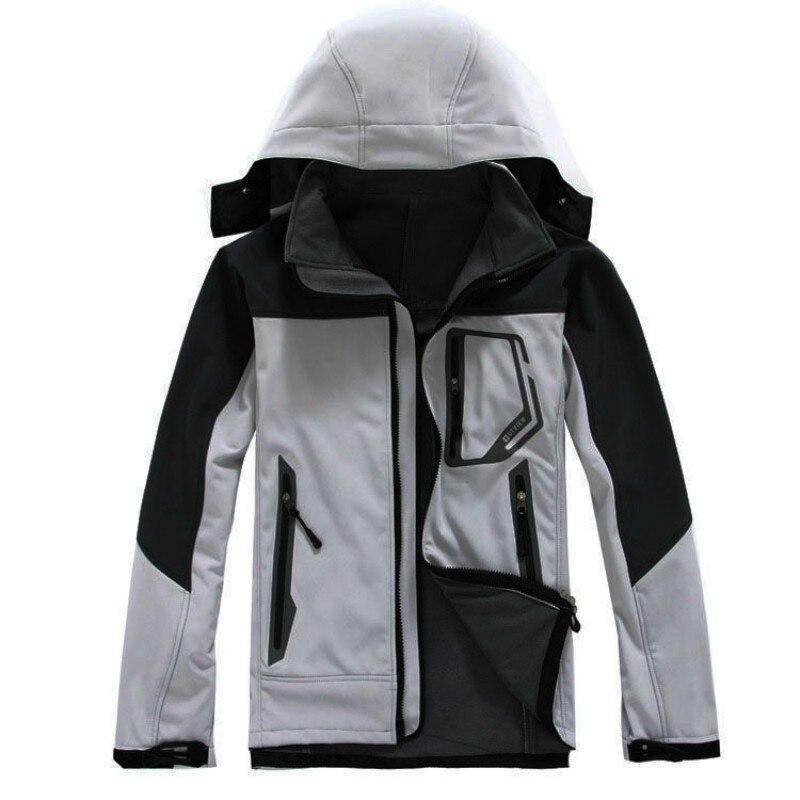 Hiver extérieur veste polaire imperméable Sport chaud manteau Sportswear randonnée Camping voyage ski escalade vestes hommes