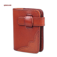 Hot Sale 2017 Card Holder Genuine Leather Business Card Holder Women Leather Wallet Credit Card Holder